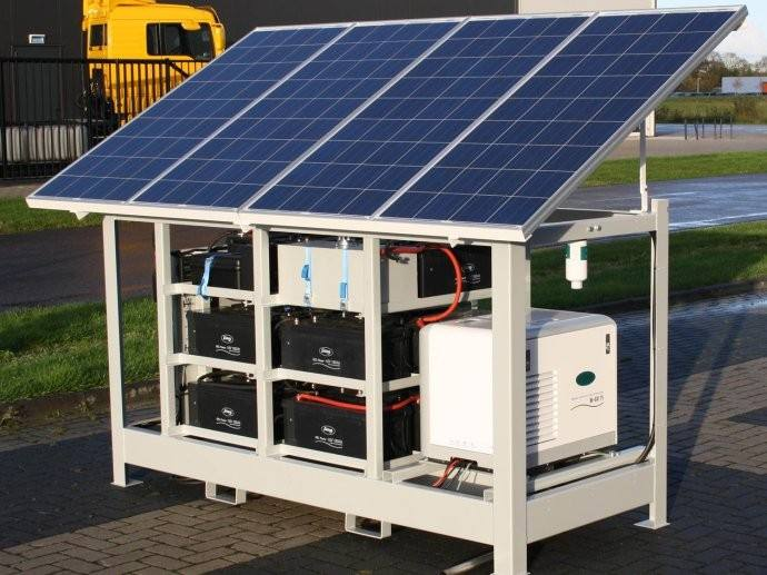 Off Grid PV System Design Solution
